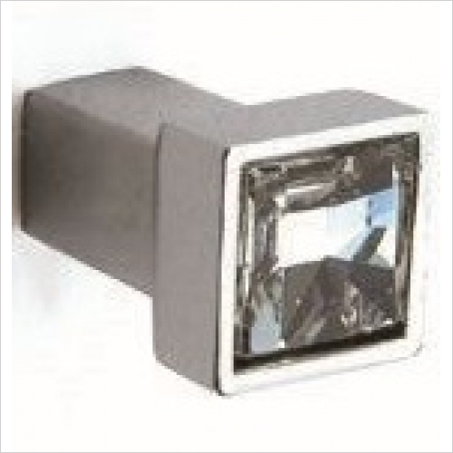 Herbert Direct Handles - Swarovski Elements Square Knob 12mm