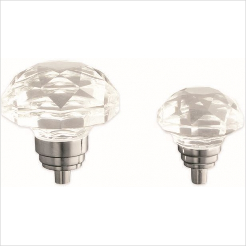 Herbert Direct Handles - Crystal Bulb Knob 33mm