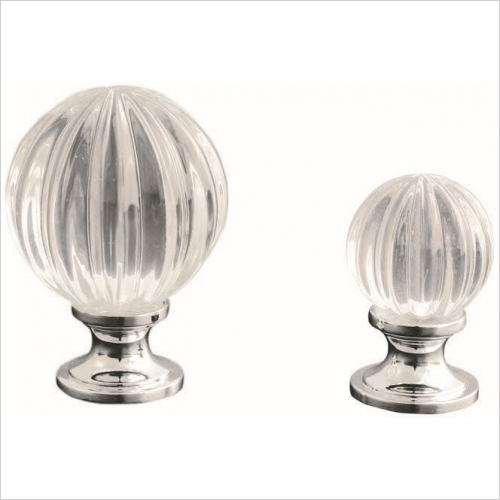 Herbert Direct Handles - Crystal Ball Knob 30mm