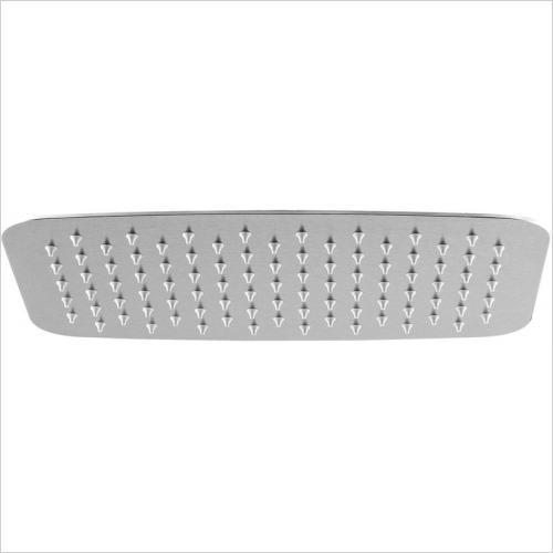 Aquaflow Italia - Rectangular Ultra Thin Shower Head 300x200mm MP